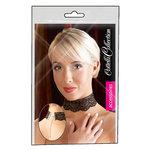Kanten halsband - Zwart