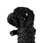 Kinbaku touw, mini - 1,5 meter - zwart
