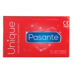 Pasante Unique Latex-vrije condooms 3 stuks