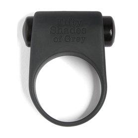 Siliconen penisring - 50 tinten grijs