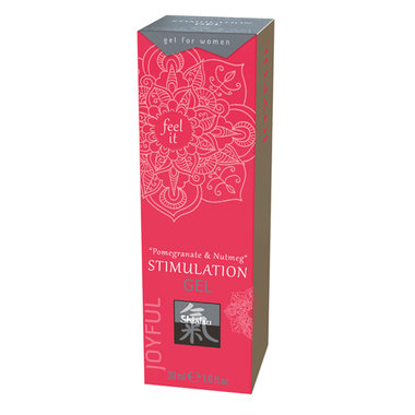 Stimulation Gel - Pomegranate & Nutmeg