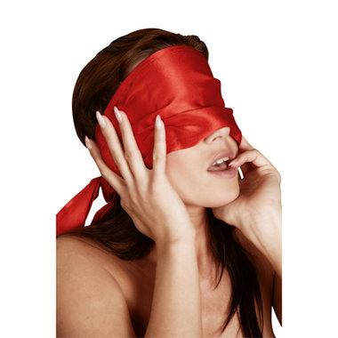 Rood Satijnen Sjaal
