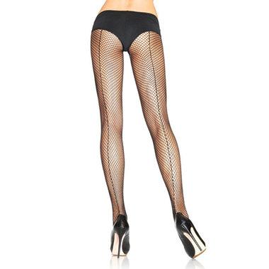 Sexy visnet naadpanty - Zwart