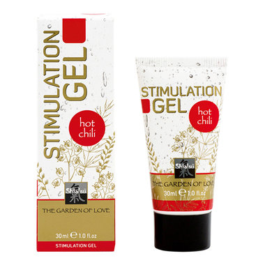 Shiatsu stimulerende gel - Hot Chili