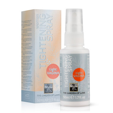 Shiatsu strak makende spray voor vrouwen
