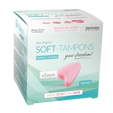 Soft-Tampons Normal - 3 Stuks