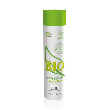 HOT BIO Massageolie Ylang Ylang - 100 ml